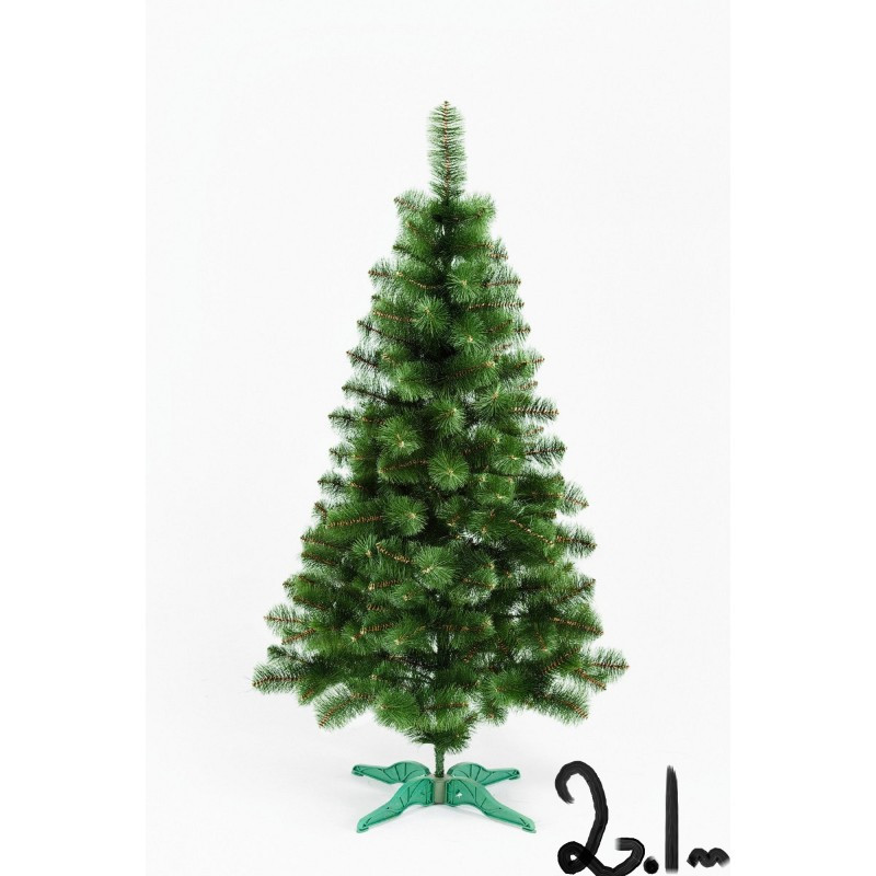 """Искусственная елка """"Сосна"""" зелёная 2.1м"""