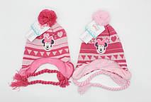 Шапка для девочек Disney, 48-50 см. Артикул: MIN-A-HAT-329