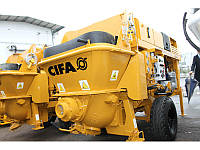 Стационарный бетононасос CIFA модели PCS 209 D/E для механического нанесения торкрет-бетона