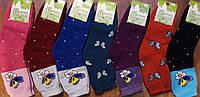 """Шкарпетки жіночі, махрові """"Топ-Тап Метелики"""" асорті, фото 1"""