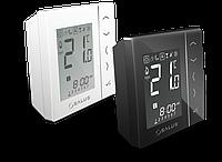Беспроводной, сенсорный термостат VS20RF W/B (белый/черный) накладной монтаж