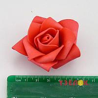 Роза 2017-1-17-1 (красная средняя 5см) 1шт