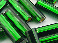 Стеклярус Preciosa (Чехия) 57150 (темно зеленый), 5г
