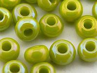 Чешский Бисер Preciosa 54430 (оливковый с бензиновым отливом), 50г