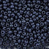 Чешский Бисер Preciosa 28928 (чернильно-синий), 50г
