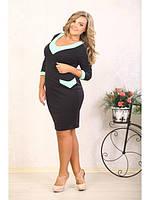 Красивое женское платье больших размеров (р. 48-90) арт. Вероника