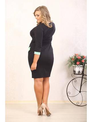 Красивое женское платье больших размеров (р. 48-90) арт. Вероника, фото 2