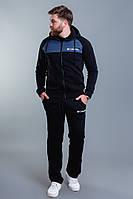 """Теплый мужской спортивный костюм """"Columbia"""" с капюшоном"""