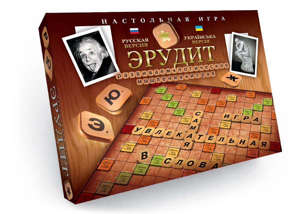 Настільна гра середня Ерудит Danko Toys (DT G4-UA)