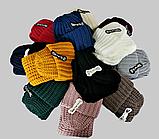 М 6162 Комплект женский шапка и шарф хомут  , разные цвета, фото 4