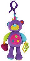 Плюшевая игрушка на клипсе Baby Mix Мишка 12599 B