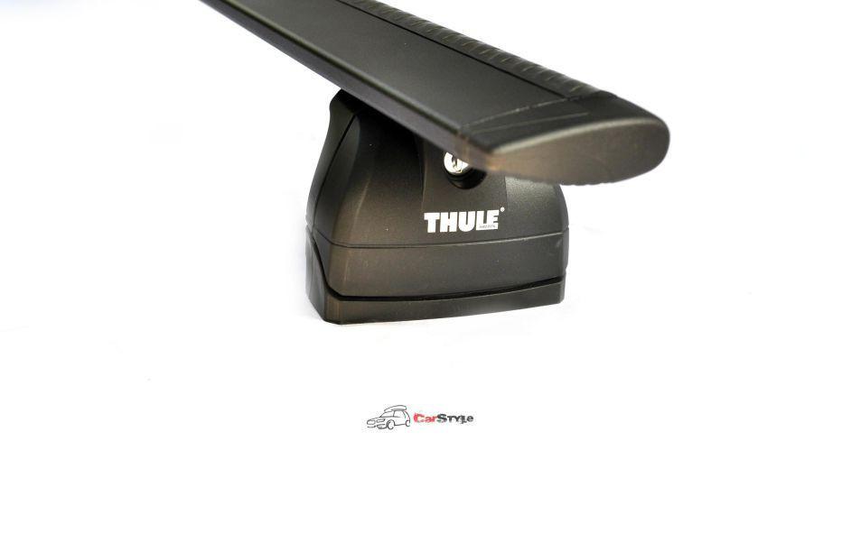 Багажник Thule-753 WingBar Black (алюминиевый плоский)