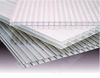 Полікарбонат сотовий (стільниковий) Carboglass прозорий 6 мм / Поликарбонат сотовый Carboglass