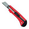 Нож 18мм выдвижное лезвие металл. направляющая лезвия MTX 789189