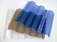 Профільний полікарбонат Suntuf (1,26х3м) 55% бронзовий / Профилированный поликарбонат (шифер) бронзовый