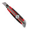 Нож 18мм выдвижное лезвие металл. направляющая винтовой фиксатор лезвия MTX 789149
