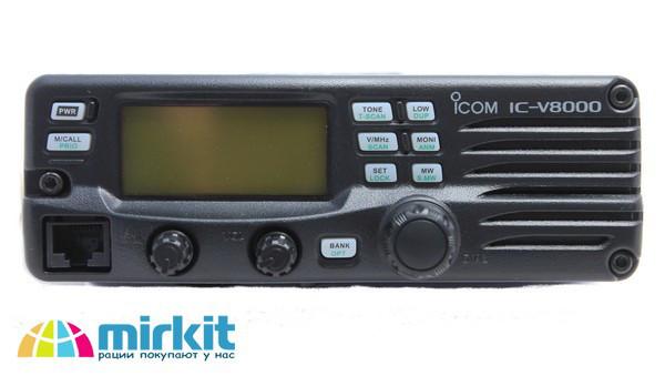 Автомобильная радиостанция Icom IC-V8000 / Автомобільна радіостанція Icom IC-V8000