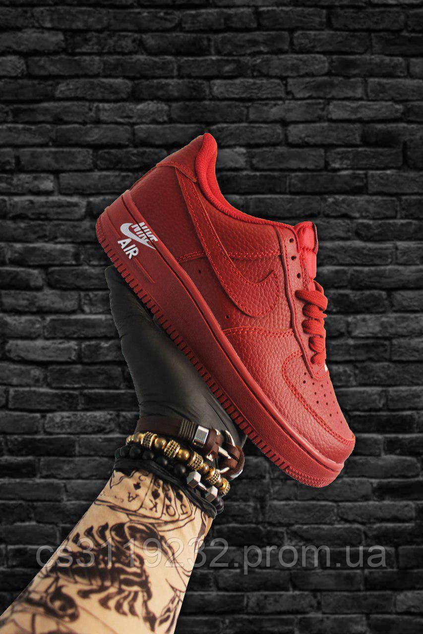 Женские кроссовки Nike Air Force 1 Low Red (красные)