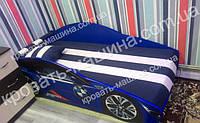 Кровать машина БМВ Элит синяя