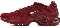 Кроссовки Nike Air Max TN Plus Team Red White Black
