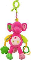 "Плюшевая игрушка на клипсе Baby Mix ""Слоник"" 12599 E"
