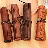 Органайзер Сувій для олівців / Пенал свиток мягкий органайзер для карандашей, кистей, ручек, фломастеров