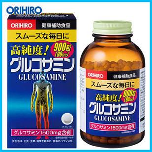 Orihiro глюкозамин высокой чистоты 1500 мг+ хондроитин дополнения 900 капсул на 90 дней