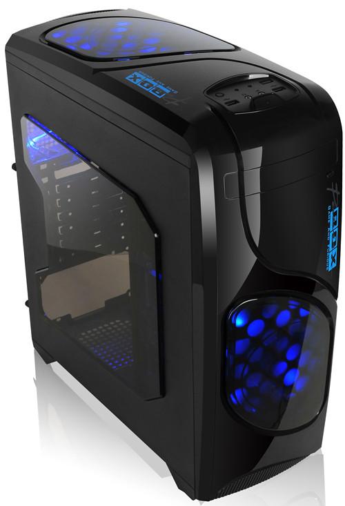 Корпус MiddleTower-ATX BTC A80M NoPSU Black