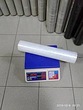 Стретч плівка для ручного пакування 20 мкм 2,3/2,5 кг прозора, первинна