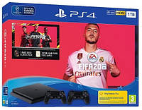 Игровая приставка Sony PlayStation 4 Slim (PS4 Slim) 1TB + FIFA 20 + DualShock 4