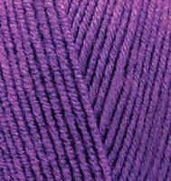 Alize Lanagold 800 №44 темно фиолетовый