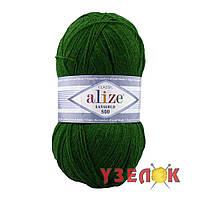 Alize Lanagold 800 №118 зеленый
