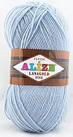 Alize Lanagold Fine №480 светло-голубой