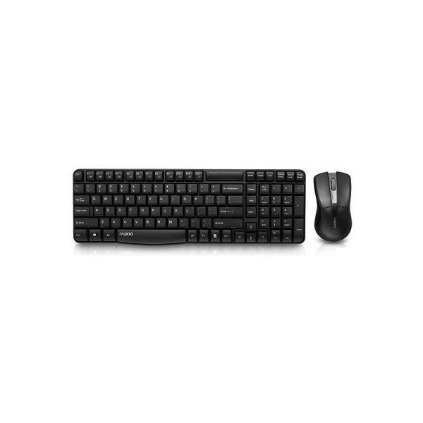 Клавіатура+Миша Rapoo X1800 Wireless Black (57701)