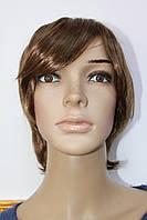 Парик из искусственных волос короткая стрижка светло русый