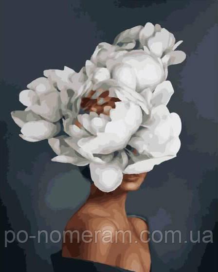 Раскраска для взрослых Цветы во мне (BK-GX29284) 40 х 50 ...
