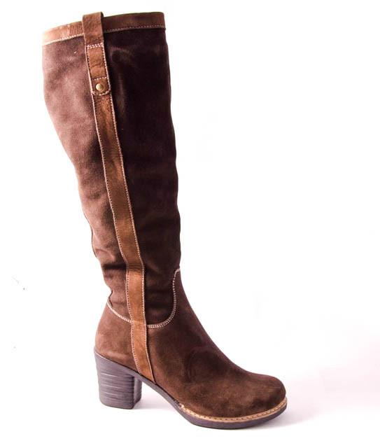 Сапоги женские коричневые Romani 8250116/2 р.36-41