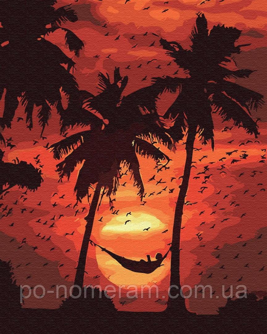 Картина по номерам Отдых на пляже (BRM30567) 40 х 50 см BrushMe