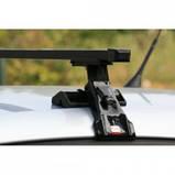 Багажник автомобільний на гладкий дах Amos Dromader D-3 / Автобагажник на гладкую крышу Амос Дромадер Д-3, фото 2
