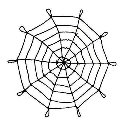 Павутина чорна плющ - Хеллоуїн (Halloween)