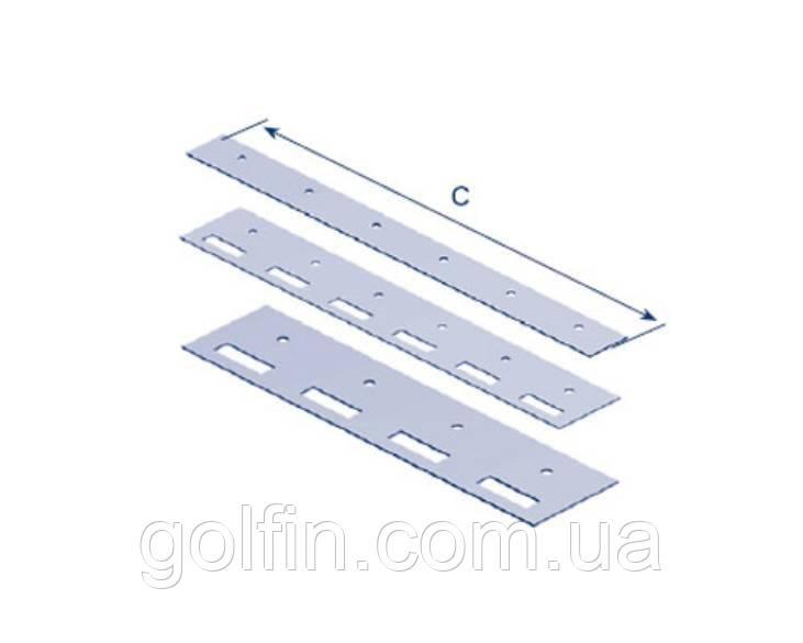 Планка-крепление для изготовления ПВХ завесы