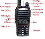 Радіостанція (рація) Baofeng UV-82 двоканальна / Радиостанция (рация) Баофенг UV-82 двухканальная, фото 3