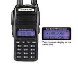 Радіостанція (рація) Baofeng UV-82 двоканальна / Радиостанция (рация) Баофенг UV-82 двухканальная, фото 4