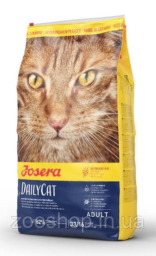 Josera DailyCat беззерновой корм для взрослых котов 400 г
