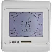 Кімнатний сенсорний термостат Terneo Sen / Комнатный сенсорный термостат Тернео Sen, фото 1