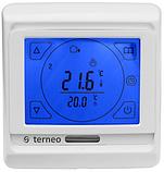 Кімнатний сенсорний термостат Terneo Sen / Комнатный сенсорный термостат Тернео Sen, фото 3