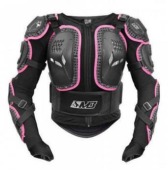 Моточерепаха женская MADBULL TURTLE black pink
