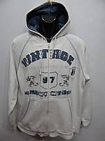 Толстовка мужская теплая Vintage оригинал р.54 075TM