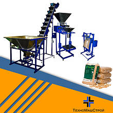 Оборудование для дозировки, фасовки и упаковки гранул