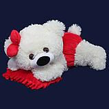 Мягкая игрушка лежачий медведь 60 см, фото 3